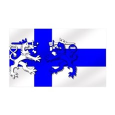 Finland Lion Flag Wall Decal