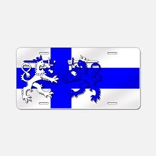 Finland Lion Flag Aluminum License Plate