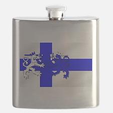 Finland Lion Flag Flask