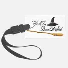 Drive a stick Luggage Tag