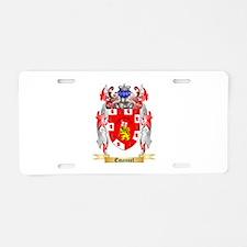 Emanuel Aluminum License Plate
