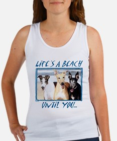LIFE'S A BEACH WOMENS TANK TOP
