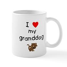 I love my granddog (5) Mug