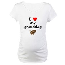 I love my granddog (5) Shirt