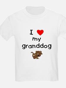 I love my granddog (5) T-Shirt