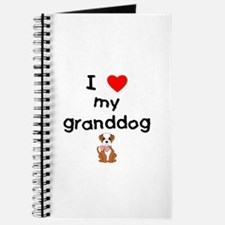 I love my granddog (bulldog) Journal
