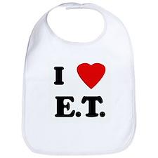 I Love E.T. Bib