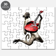 Monkey Playing Guitar Puzzle