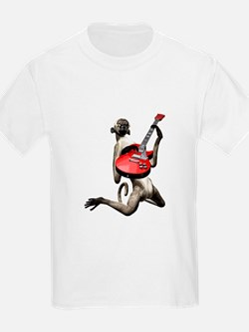 Monkey Playing Guitar T-Shirt
