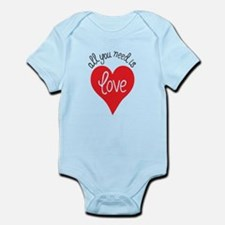 all you need is love Body Suit