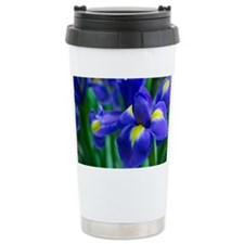 Blue iris Travel Mug