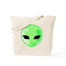 Alien Invader Tote Bag
