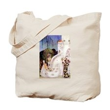 Cinderella Leaves at Midnight by Kay Nielsen Tote