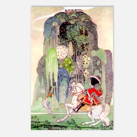 The Sleeping Beauty Prince by Kay Nielsen Postcard