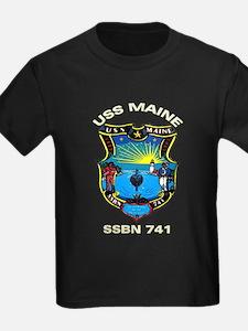 USS Maine SSBN 741 T