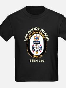 USS Rhode Island SSBN 740 T