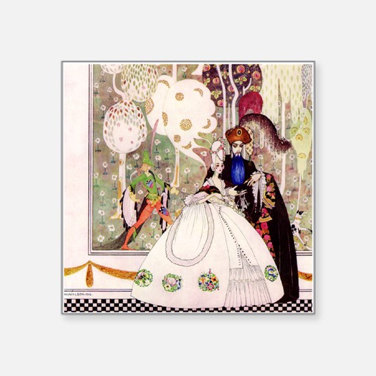 Bluebeard and His Lady By Kay Nielsen Square Stick