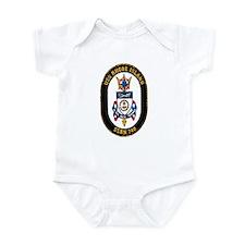 USS Rhode Island SSBN 740 Infant Bodysuit