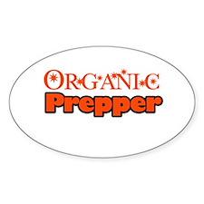 Organic Prepper Decal