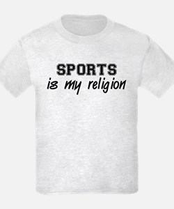Sports Is My Religion T-Shirt