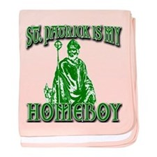 St Patrick is My Homeboy baby blanket