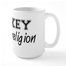 Hockey Is My Religion Mug