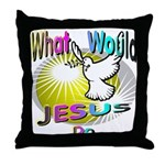 What Would Jesus Do Throw Pillow