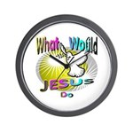 What Would Jesus Do Wall Clock