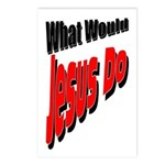 What Would Jesus Do Postcards (Package of 8)