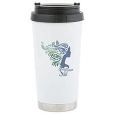 Woman Who Sail Logo Travel Mug