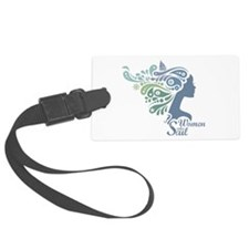 Woman Who Sail Logo Luggage Tag