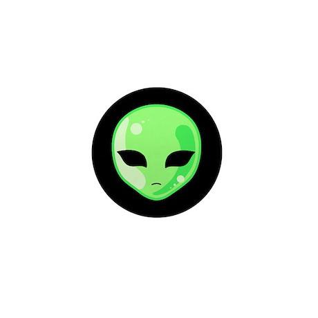 Alien Invader Mini Button