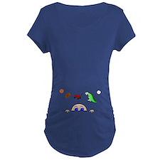 Baby BOY Peeking Maternity T-Shirt