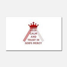 KEEP CALM AND TRUST IN GOD'S MERCY Car Magnet 20 x