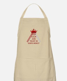 KEEP CALM AND TRUST IN GOD'S MERCY Apron