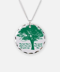 Plant a Tree Now Necklace