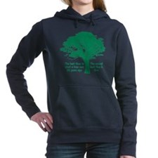 Plant a Tree Now Hooded Sweatshirt