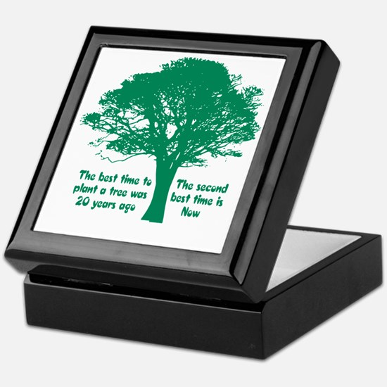 Plant a Tree Now Keepsake Box