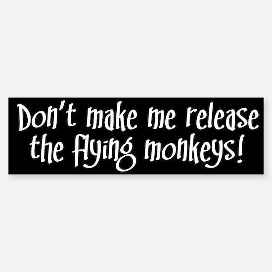 Flying Monkeys Bumper Bumper Bumper Sticker