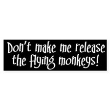 Flying Monkeys Bumper Bumper Sticker