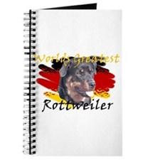 Worlds greatest Rottie Journal