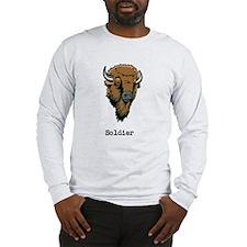 Unique Buffalo soldier Long Sleeve T-Shirt