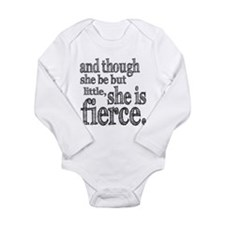 She is Fierce Shakespeare Baby Outfits