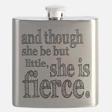 She is Fierce Shakespeare Flask