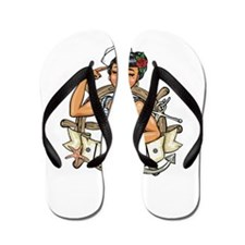 Cute The who Flip Flops