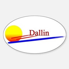 Dallin Oval Decal
