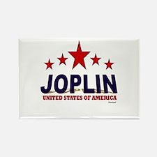 Joplin U.S.A. Rectangle Magnet