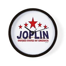 Joplin U.S.A. Wall Clock