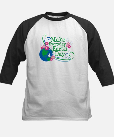 Make Everyday Earth Day Kids Baseball Jersey