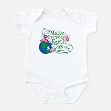 Make Everyday Earth Day Infant Bodysuit